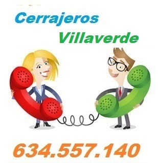 Telefono de la empresa cerrajeros Villaverde